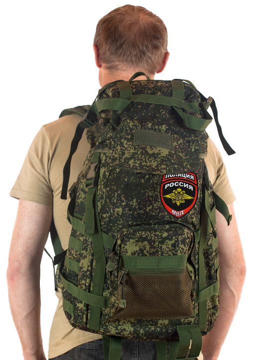 Зачетный рейдовый рюкзак с нашивкой Полиция России