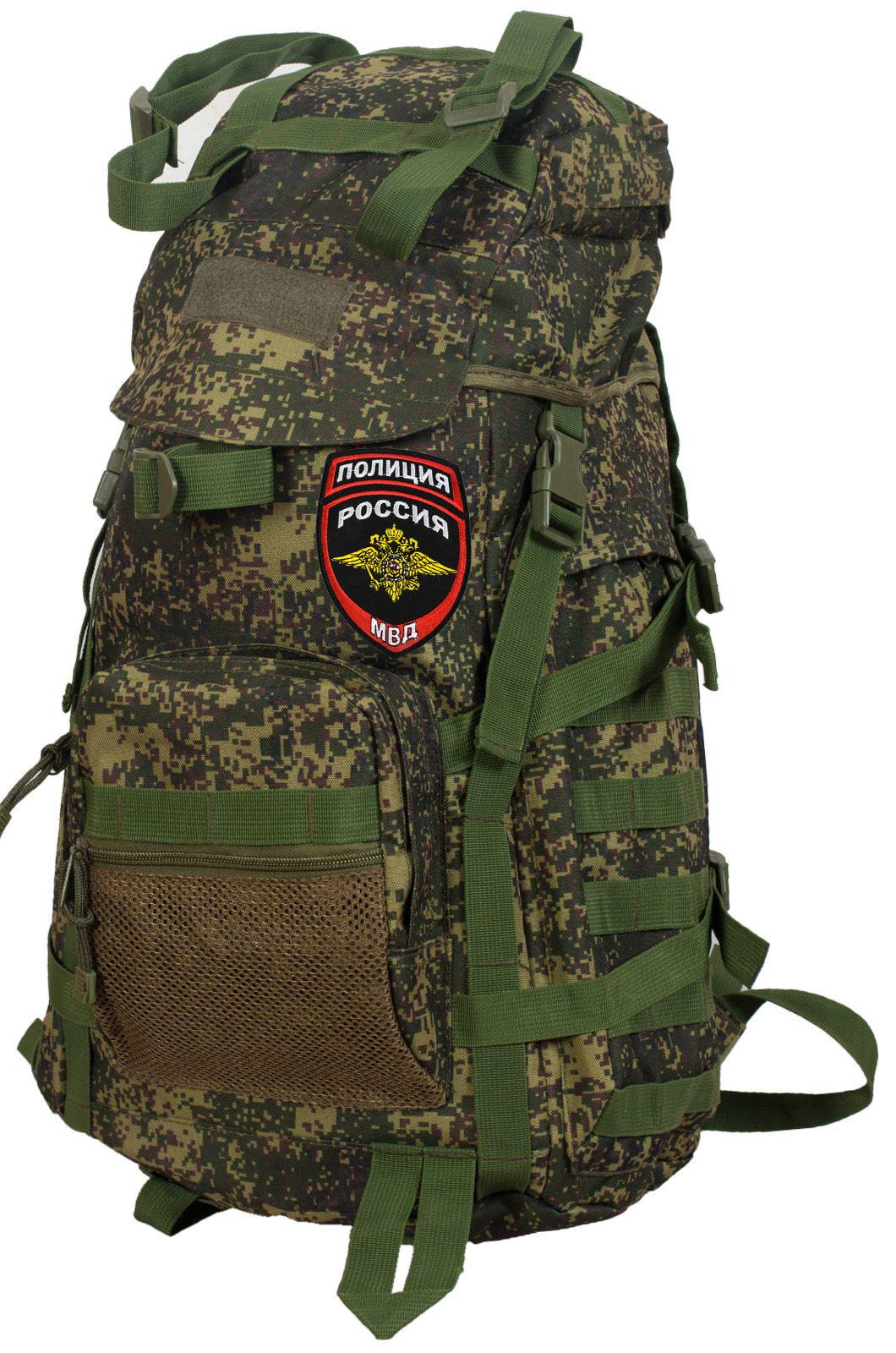 Зачетный рейдовый рюкзак с нашивкой Полиция России - купить в розницу