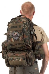 Зачетный рюкзак рыбака с эмблемой Рыболовного спецназа купить выгодно