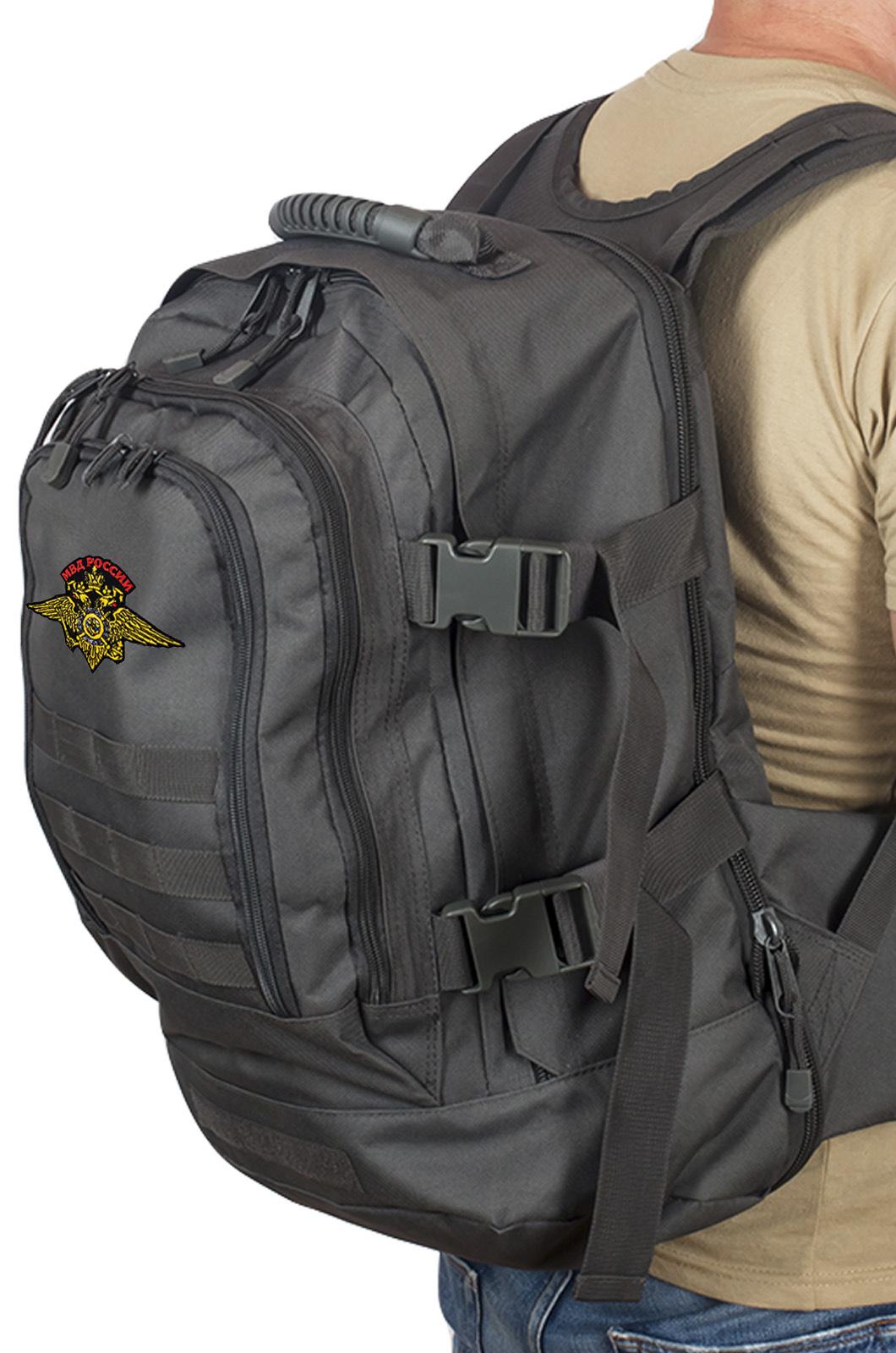 Зачетный рюкзак с эмблемой МВД России купить онлайн