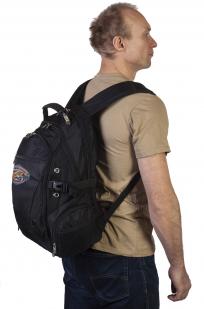 Зачетный рюкзак с нашивкой Лучший рыбак.