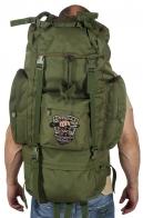 Зачетный вместительный рюкзак с нашивкой Охотничий Спецназ