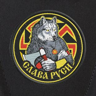 Зачетный вместительный рюкзак с нашивкой Слава Руси
