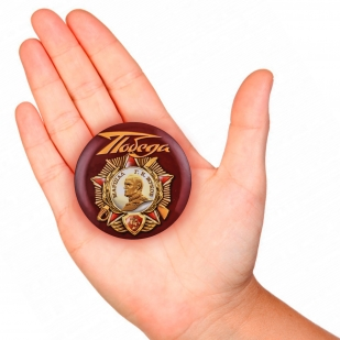 Закатный значок с орденом Жукова с доставкой