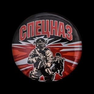 Закатный значок «Спецназ» от Военпро