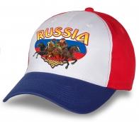 """Заказывай, пока не разобрали! Качественная бейсболка """"Россия"""" по супер-низкой цене! Эффектная модель для истинных патриотов!"""