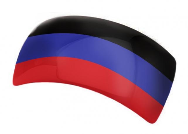 "Заколка для волос ""ДНР"""