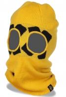 Закрытая теплая и легкая балаклава для холодного времени года с вырезами для глаз