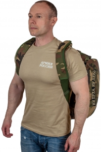 Заплечная дорожная сумка с нашивкой Ни пуха, Ни пера - купить онлайн