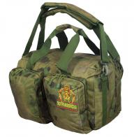 Заплечная камуфлированная сумка-баул Погранвойск