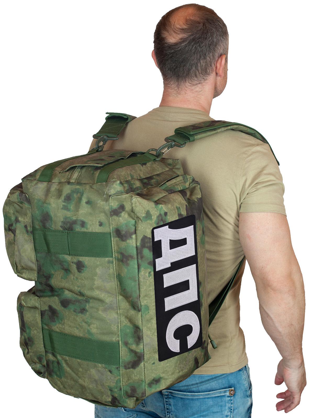Купить заплечную камуфляжную сумку-баул ДПС по лучшей цене онлайн