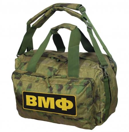 Заплечная камуфляжная сумка-баул ВМФ