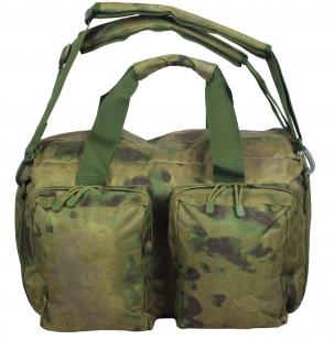 Заплечная камуфляжная сумка с нашивкой Ни пуха, Ни пера - купить оптом
