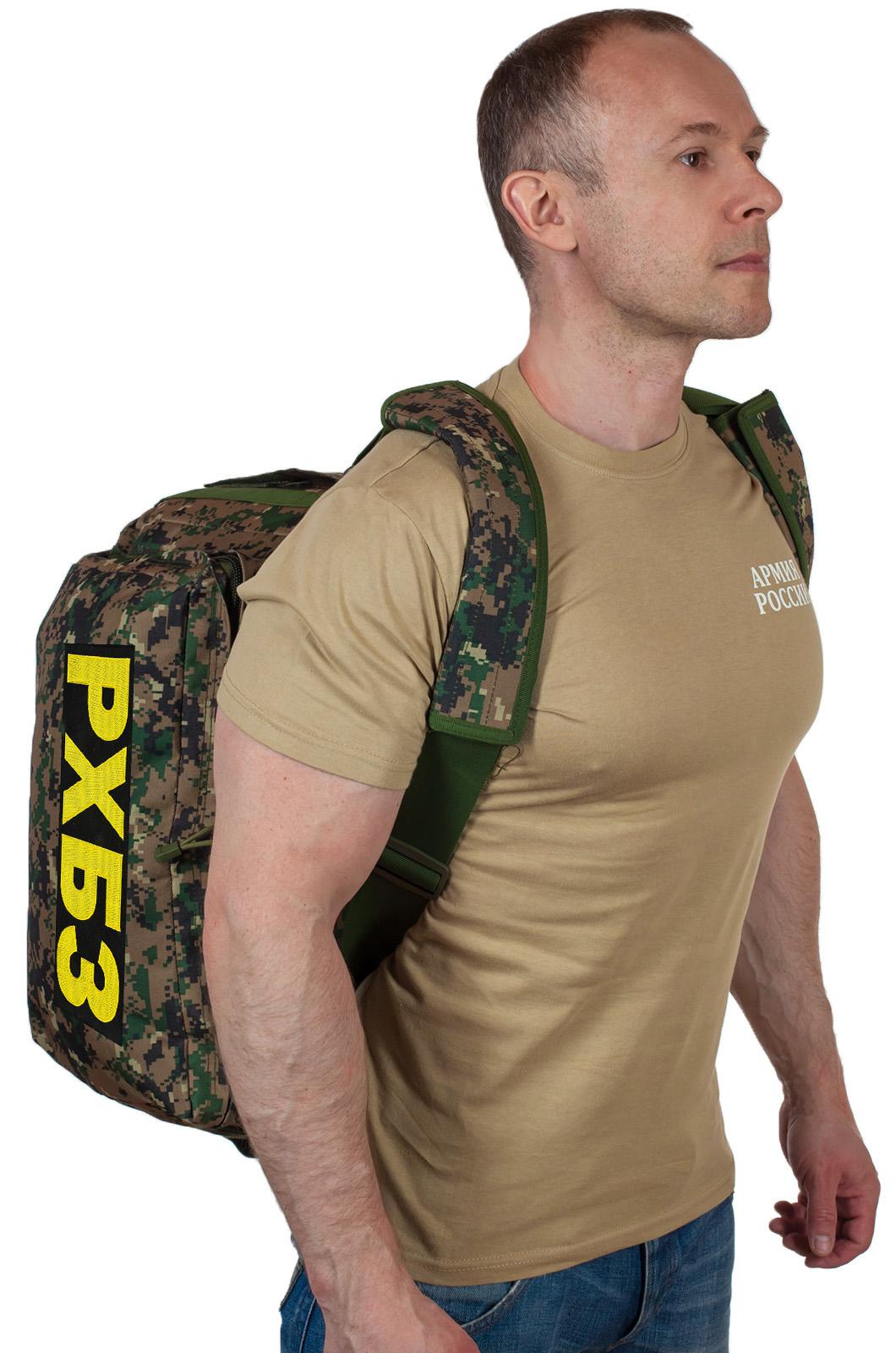 Заплечная тактическая сумка-баул РХБЗ - купить оптом