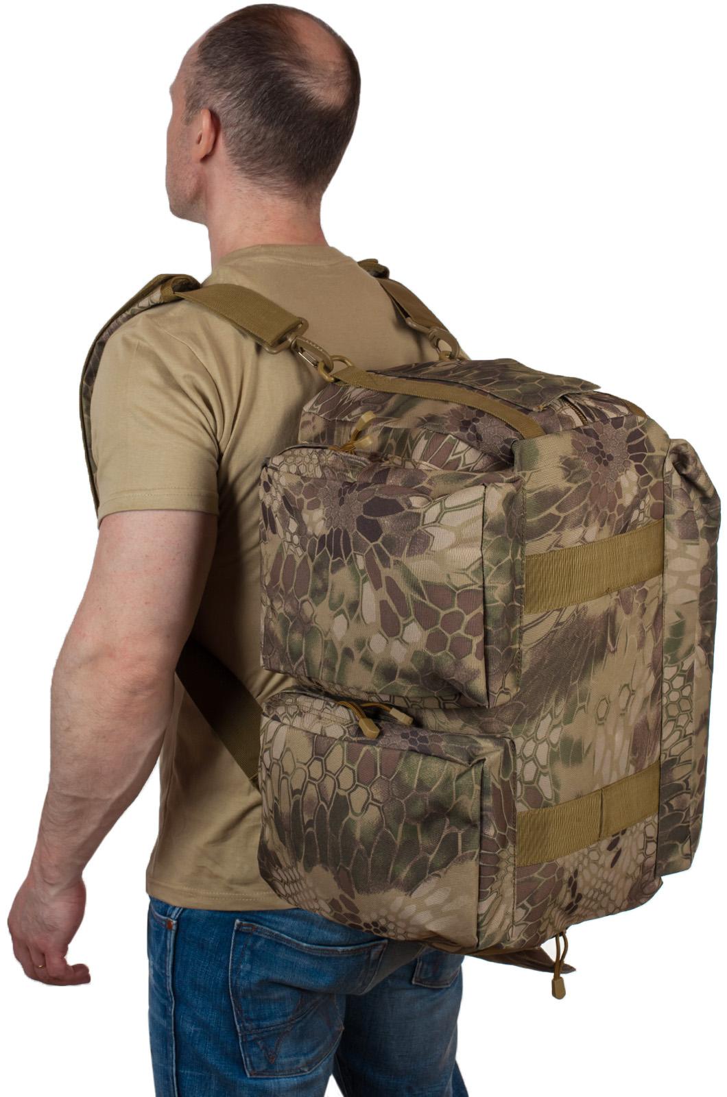 Заплечная тактическая сумка Ни пуха, Ни пера - купить по низкой цене