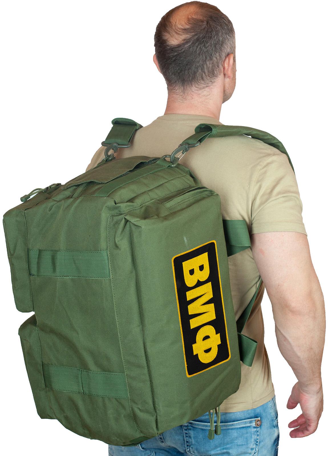 Купить заплечную тактическую сумку-рюкзак ВМФ по экономичной цене