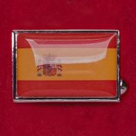 "Запонки ""Флаг Испании"""
