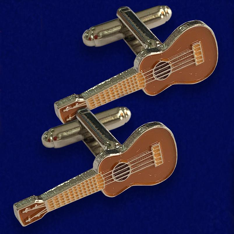 Модные запонки Гитара