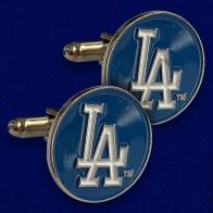 Стильные запонки Los Angeles Dodgers
