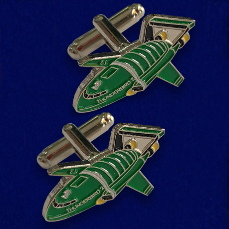 Фанатские запонки DeAgostini Thunderbird 2 Model