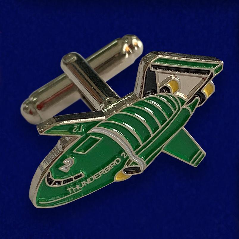 Стильные запонки DeAgostini Thunderbird 2 Model