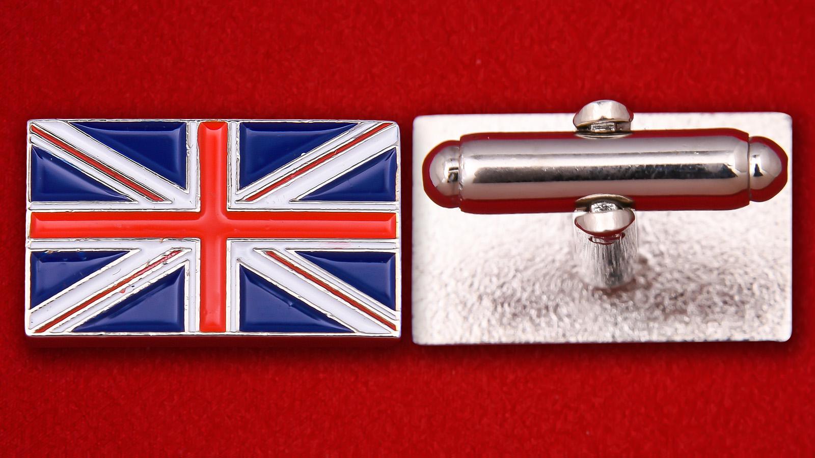 """Запонки """"Великобритания"""""""