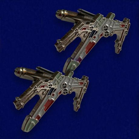 Коллекционные мужские запонки X-Wing