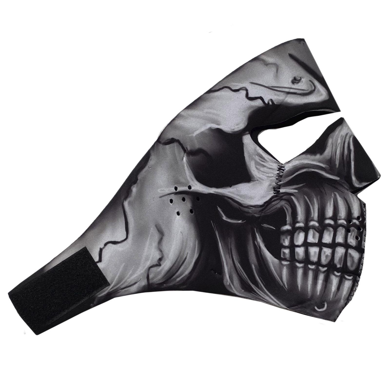 Защитная антивирусная маска Wild Wear Skeleton из неопрена
