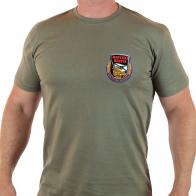 Защитная мужская футболка «Горжусь родной Пехотой Морской».