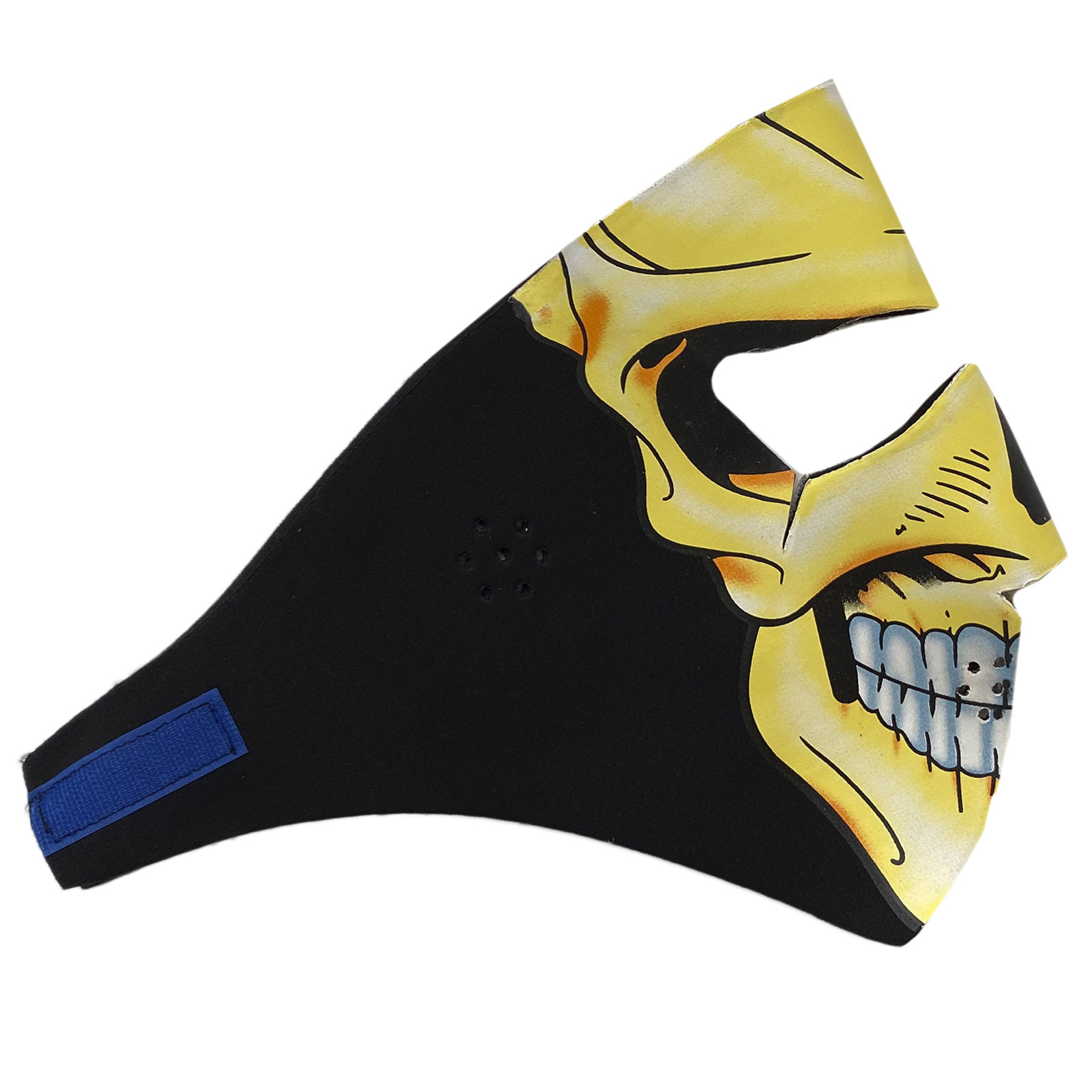 Защитная маска с молодежным хоррор-принтом
