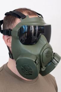 Защитная маска с респиратором по лучшей цене