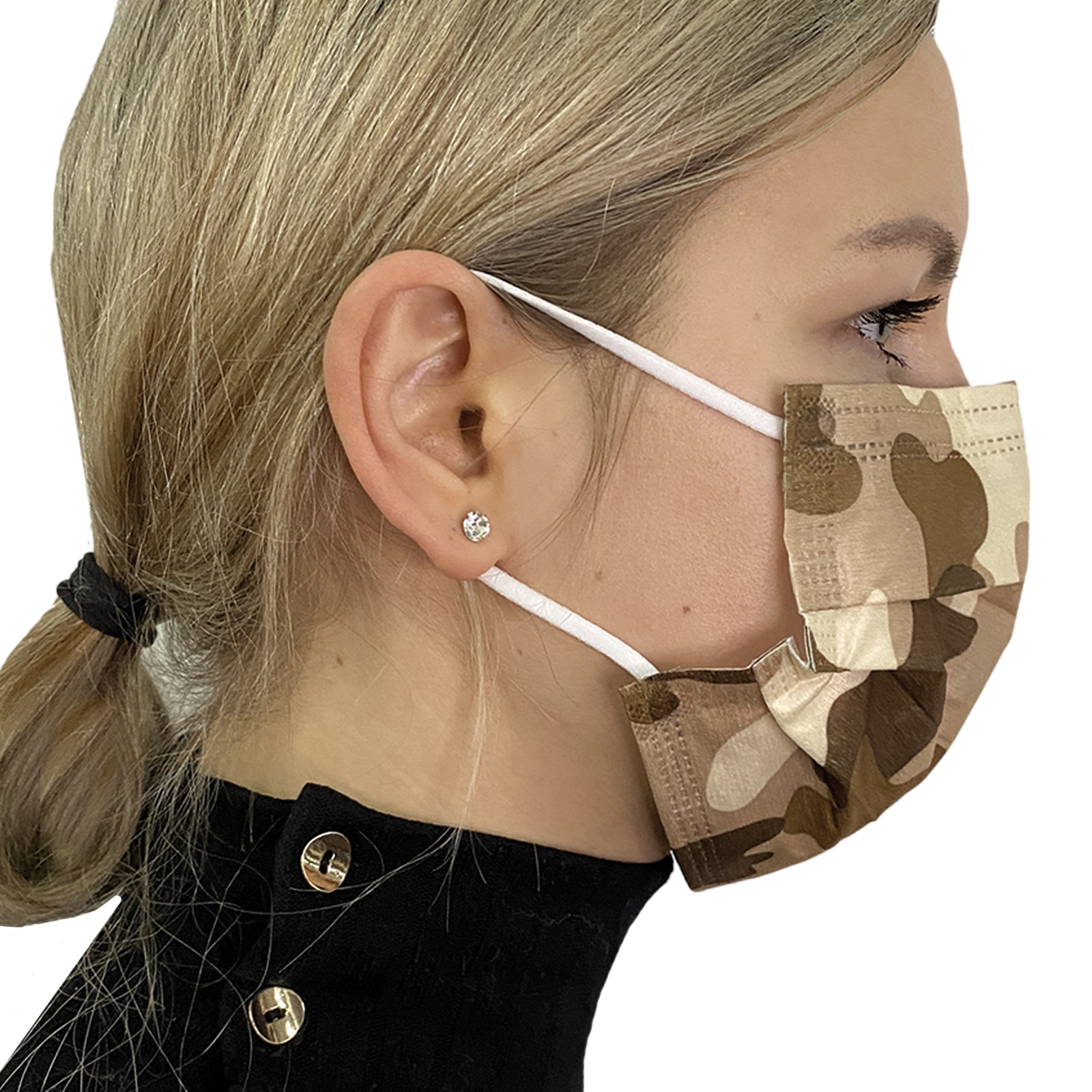 Стильные медицинские маски – реальные фото товара