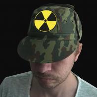 Защитная милитари-кепка с эмблемой Радиация