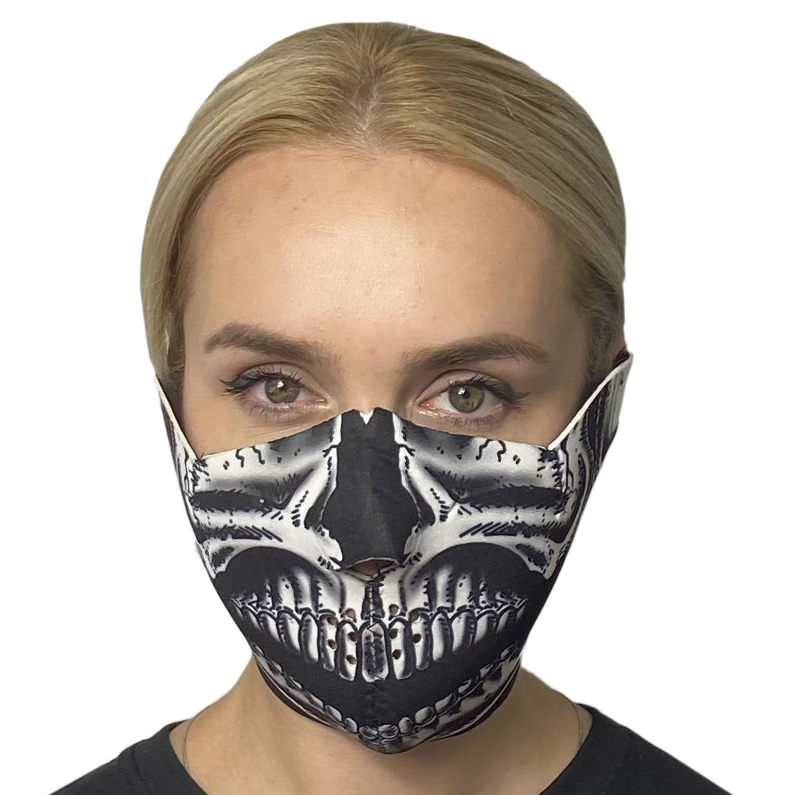 Защитная неопреновая маска Wild Wear Black Bone