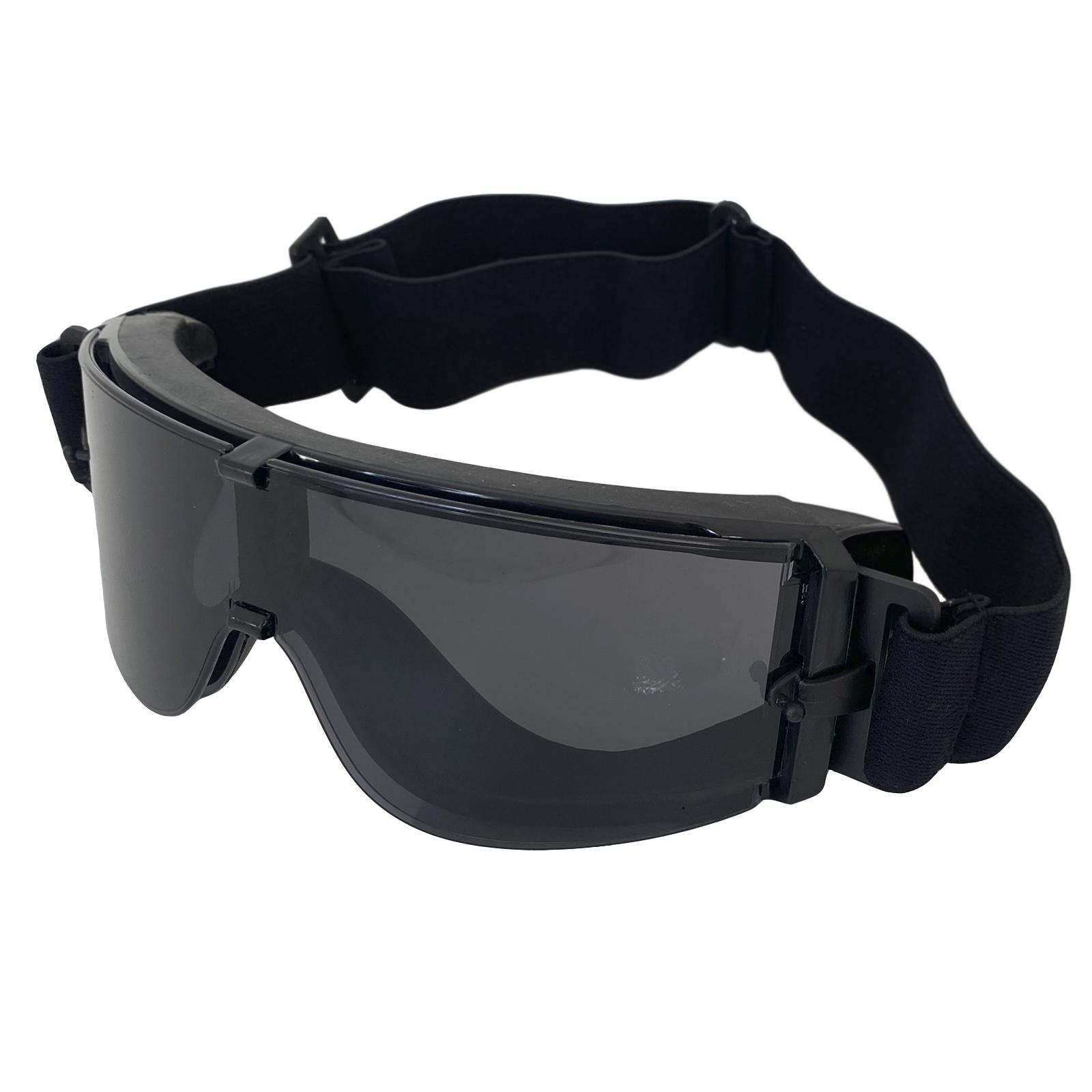 Защитные баллистические очки черные