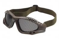 Защитные очки Goggle хаки - олива (сетка)