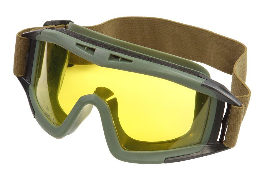 Защитные очки Гром жёлтое стекло