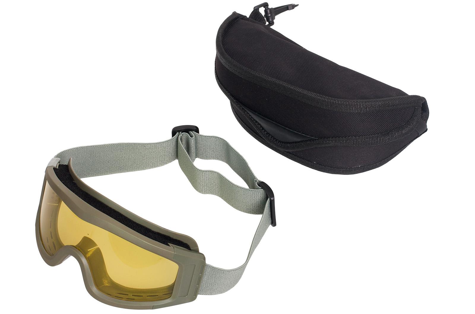 Защитные очки страйкбольные в футляре