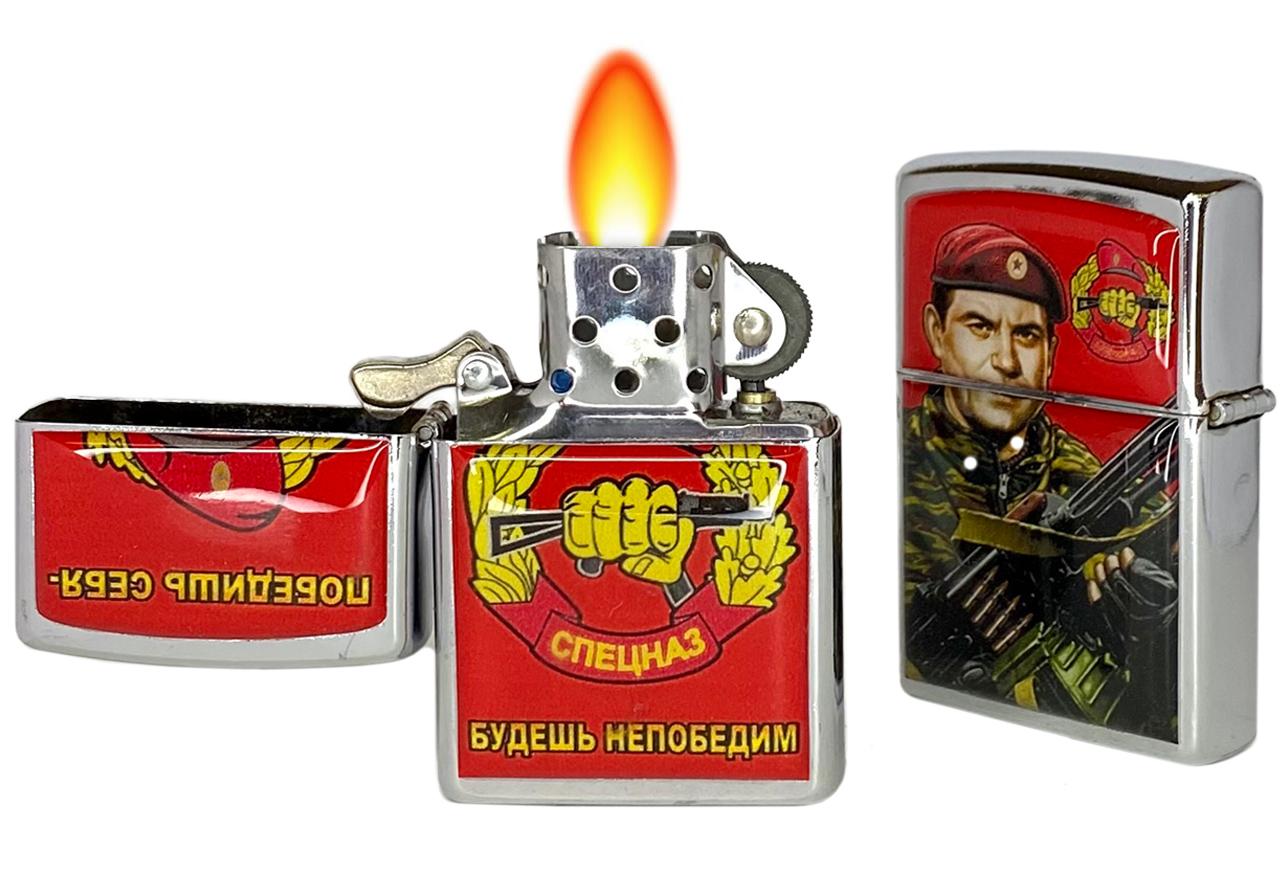 Зажигалка Спецназ ВВ (бензиновая)