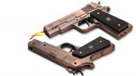 Зажигалка копия пистолета