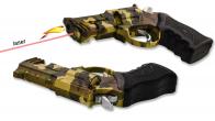 Зажигалка-пистолет камуфляжный
