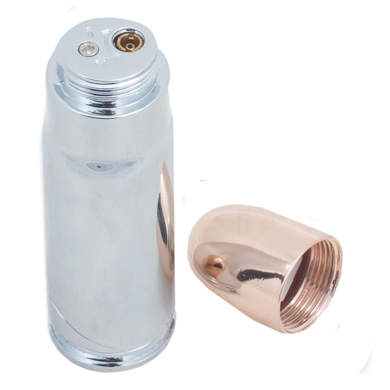 Зажигалка-пуля с фонариком
