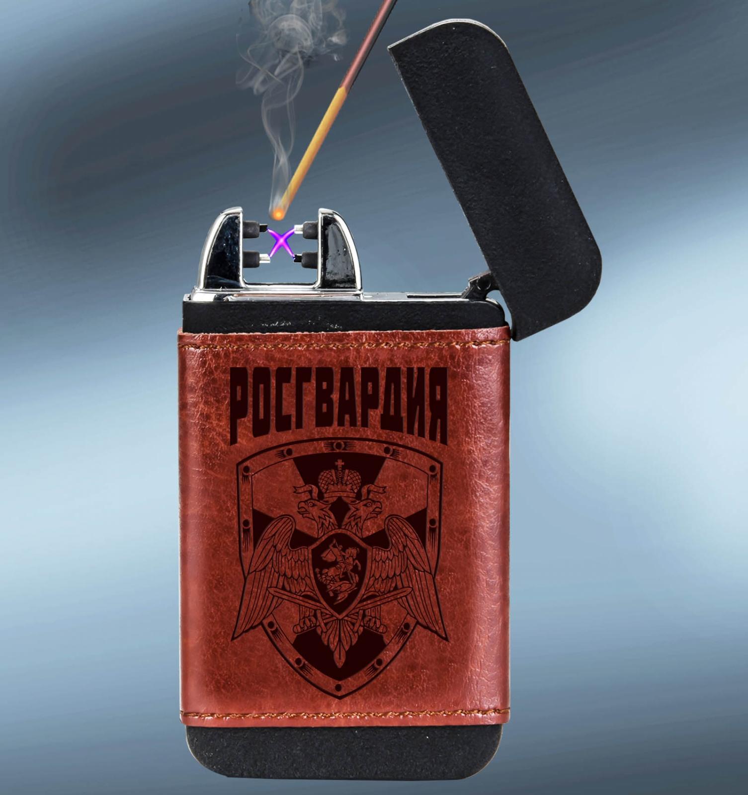 Тактическая зажигалка Росгвардия с функцией батареи-повербанка