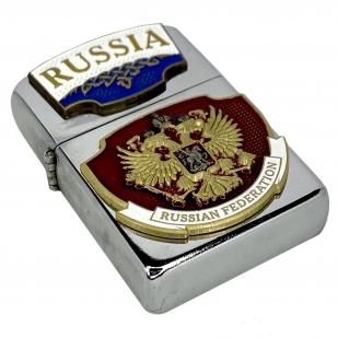 """Купить зажигалку """"RUSSIA"""""""