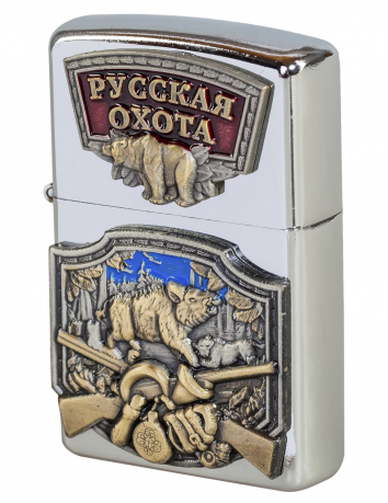 "Зажигалка ""Русская охота"""