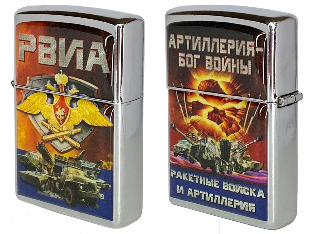 """Зажигалка """"РВиА России"""""""