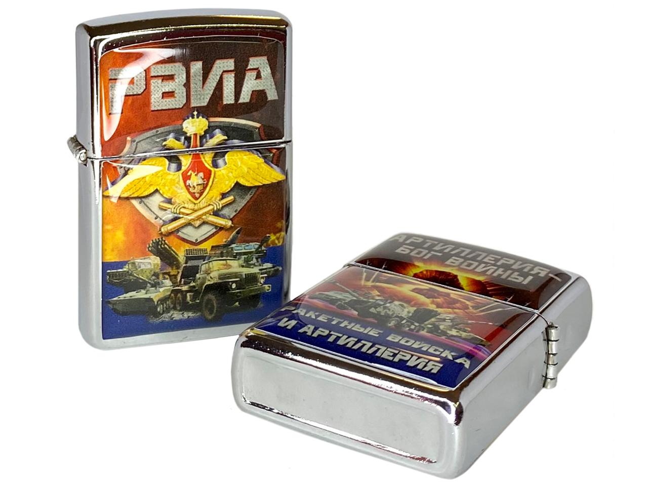 """Купить зажигалку """"РВиА России"""" недорого"""