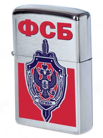 Достойная зажигалка с эмблемой ФСБ