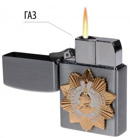 """Зажигалка с откидной крышкой """"Орден Кутузова"""""""