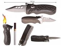 Зажигалка с выкидным ножом